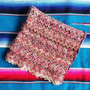 Missoni long knit scarf